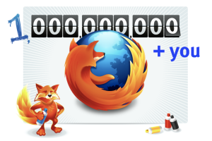 one billion firefoxdownload
